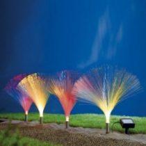 Napelemes solar kerti lámpasor 4 db