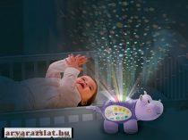 V-tech viziló éjjeli lámpa  zeélő világító kis kedvenc