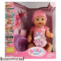 Több funkciós interactive baba lány baby born