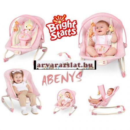 B.Starts elektromos rezgő,pihenőszék rózsaszín bontatlan új,összecsukható