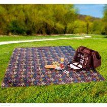 Piknik táska felszerelve új, hőszigetelt