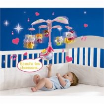 Hello Kitty V-tech zenélő-forgó éjjeli fénnyel új