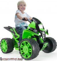 INJUSA elektromos autó quad   zöld