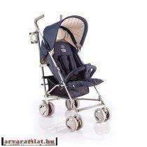 Babycab David karfás sport esernyőbabakocsi s.kék italtartóval, h