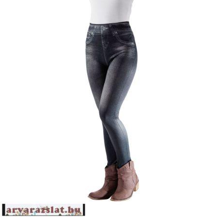 Elasztikus farmerhatású leggings új xxl