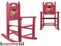 Fa hintaszék méhecskés  fa gyerek szék