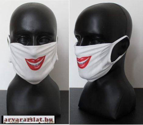 Védőmaszk,  elasztikus anyag  száj