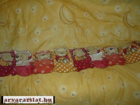 Alvi nagy  játszószőnyeg,járókabetét,ágytakaró maci mintás új