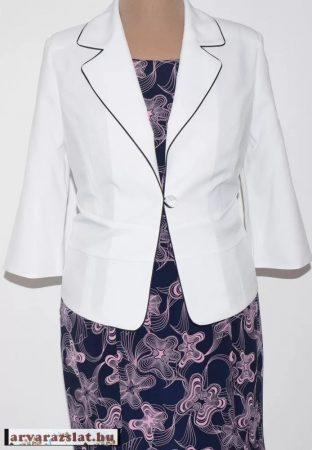 Csinos, elegáns fehér női blézer 44 es