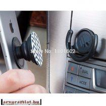 POPSOCKET  MINTÁS TELEFONTARTÓ  combó 3in1 több mintával +popclips autós tartóval