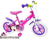 Stamp minnie egeres gyeremekkerékpár gyerek bicikli 14-es segédkerékkel