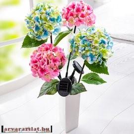 Hortenzia művirág dekoráció 2 színben