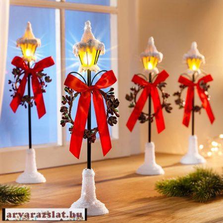 karácsonyi világító kandeláber új