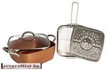 Multifunkciós professzionális sütő-pároló edény német