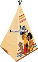 Yakari indián játszó sátor új