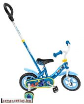 NÉMÓS szülőkaros 10-es bicikli gyerek jármű