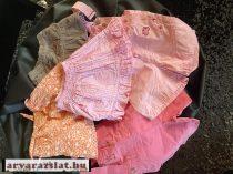 80-86 kislány szoknya, kantárosnadrág csomag babaruha csomag 5 db (2.)