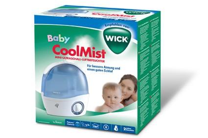 Wick ultrahangos hidegpárásító,légnedvesítő új