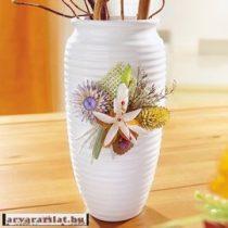 szárazvirággal díszitett váza új