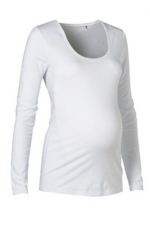 Esprit kismama felső basic fehér xl új