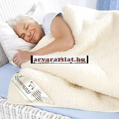 nyírott gyapjú takaró új