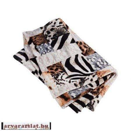 Safari mintás ágytakaró, pléd,takaró új