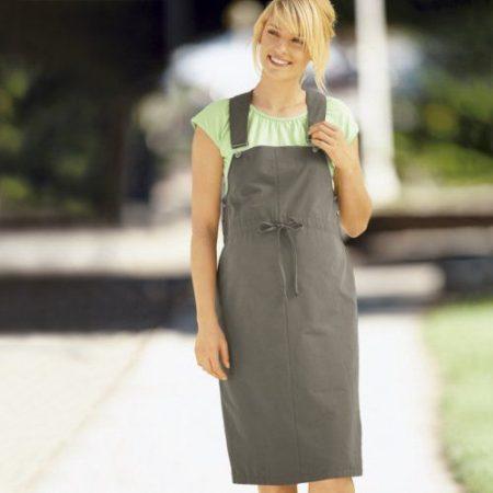 Kismama kertész ruha keki 38,42 új
