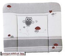 roba puha pelenkázófeltét Soft 85x75 baglyos textil