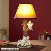 angyalkás  dekor led lámpa új