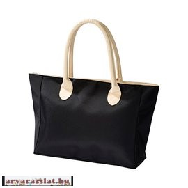 Fekete és barna  női táska órával új