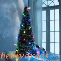 világító karácsonyfa,műfenyő 50 cm új