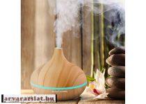 aromaterápiás párologtató, ultrahangos párásító