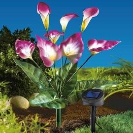 Napelemes Kala virág új dekoráció