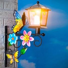 Solar kerti dekor napelemes pillangós lámpa új