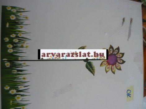 Solar virág fém dekoráció napelemes új