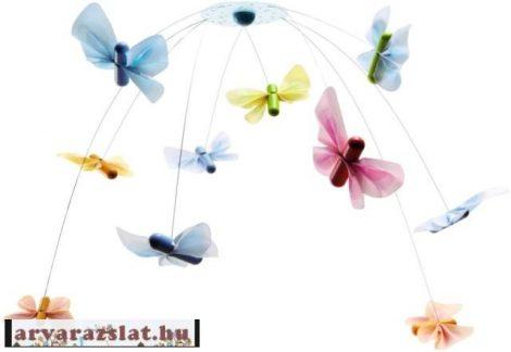 Haba mozgó játék új mobili babajáték pillangós