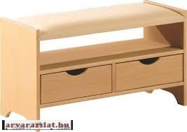 2 FIÓKOS CÍPŐS SZEKRÉNY ÜLŐKE ZSÁMOLY előszoba bútor