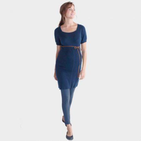 Esprit kismama tunika-miniruha kék m -es új