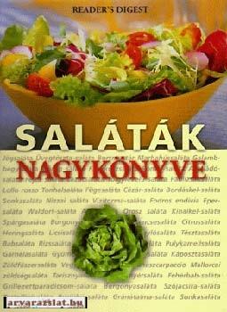 Saláták nagykönyve riders digest szakácskönyv hatalmas színes lexikon 352 oldal