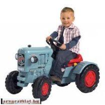 BIG eicher pedálos traktor h  játék traktor  az igazi nagy traktor mintájára gyerekjármű