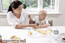 STOKKE® Table Top™  KREATÍV Tálca ,asztallap h vizilovas-zsiráfos