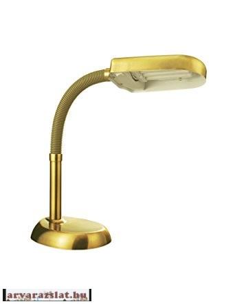 Energiatakarékos asztali lámpa arany