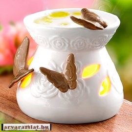 Pillangós mécsestartó aromalámpa új