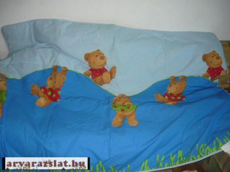 babynest nagy  játszószőnyeg,járókabetét,ágytakaró maci mintás új