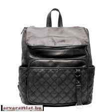 Little Company Pelenkázó hátizsák Lisbon Quilted koptatott fekete