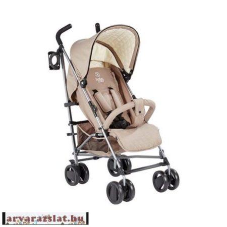 Babycab David karfás sport esernyőbabakocsi barna italtartóval,esővédővel h