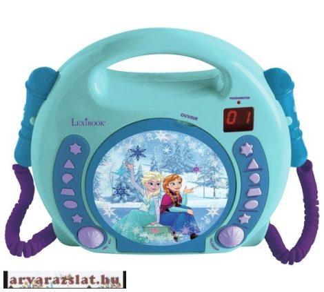 Lexibook Disney - Jégvarázs jégkirálynős mikrofonos CD lejátszó