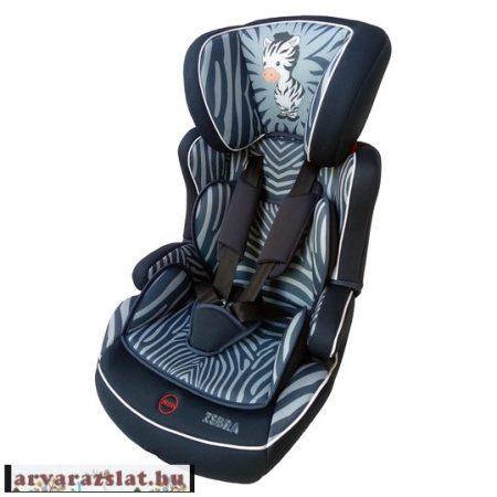 Osann autósülés  Lupo plus   9-36 kg  gyerekülés zebrás biztonsági autósülés