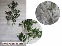 Oliva ág  művirág  dekoráció 120 cm zöld
