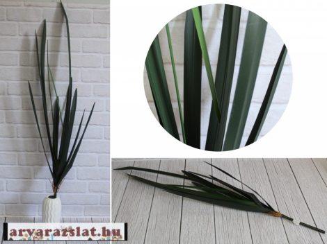 Művirág, műnövény zöld levél 112cm